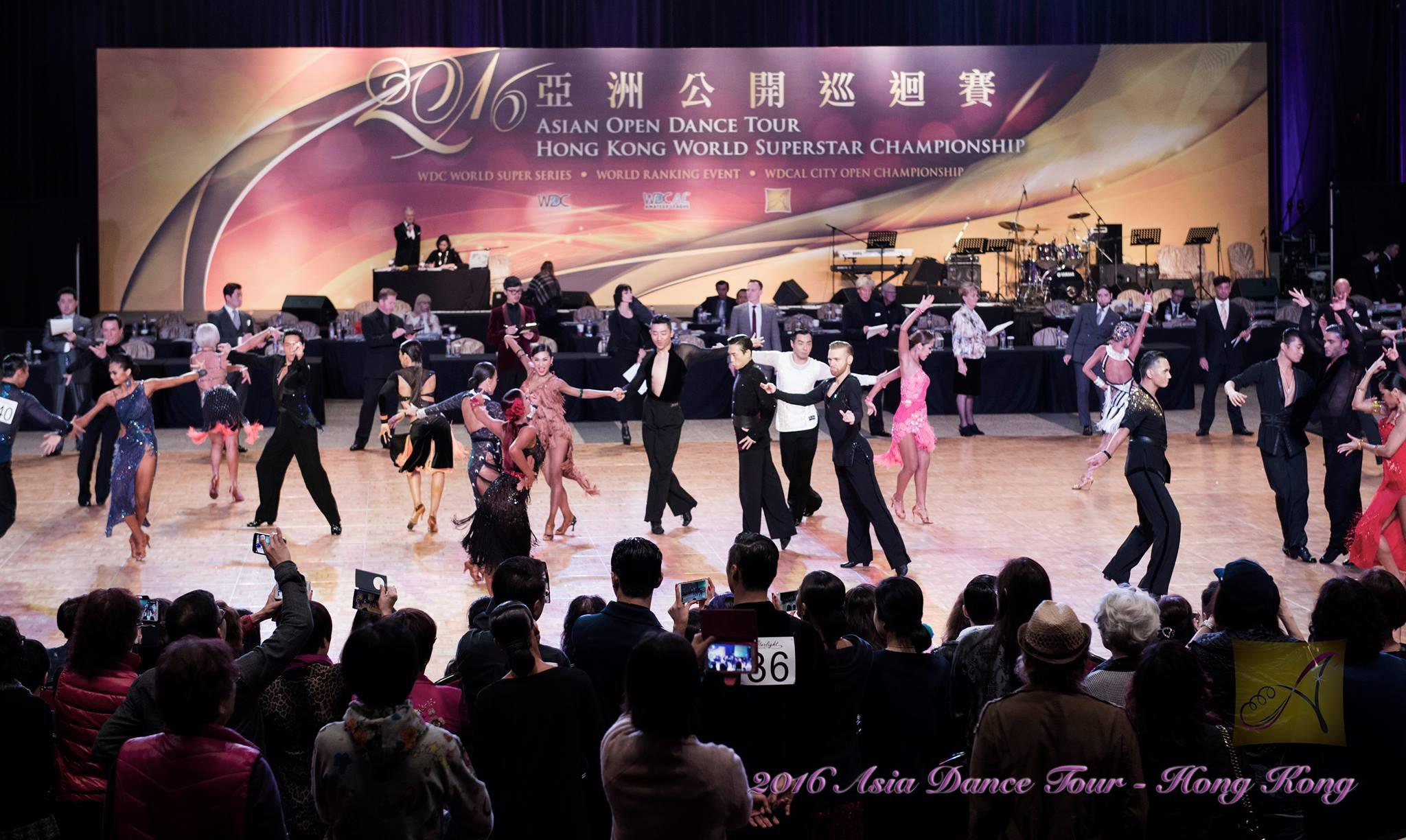 Asian Tour 2016- Hong Kong World Superstar Championship