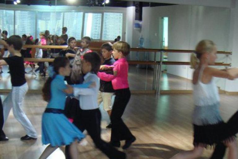 Advanced Ballroom Dancing Kids, Group 3
