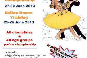 Italian Open Championship 2013 in Rimini